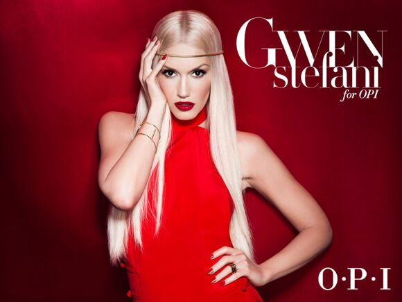 Gwen Stefani for OPI1