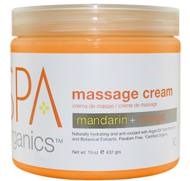 Massage Cream Mandarin+Mango473ml SPA BCL